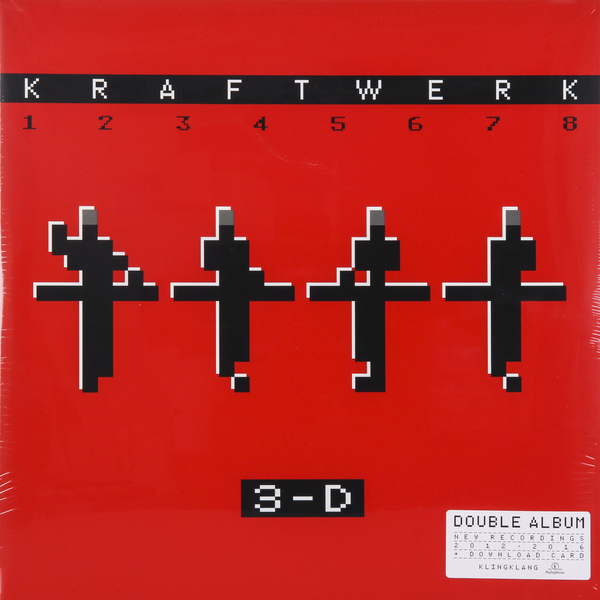Kraftwerk Kraftwerk - 3-d The Catalogue (2 LP) виниловая пластинка kraftwerk 3 d the catalogue box set 180 gram