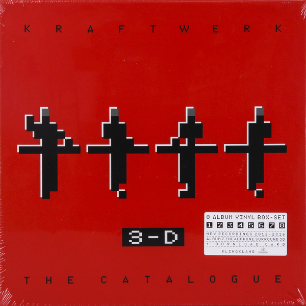 Kraftwerk Kraftwerk - 3-d The Catalogue (9 LP) виниловая пластинка kraftwerk 3 d the catalogue box set 180 gram