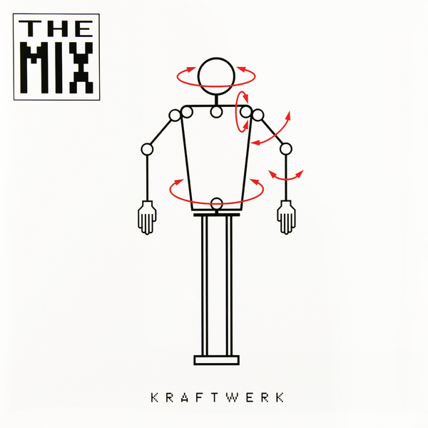 Kraftwerk Kraftwerk - The Mix (2 LP) kraftwerk kraftwerk 3 d the catalogue 9 lp