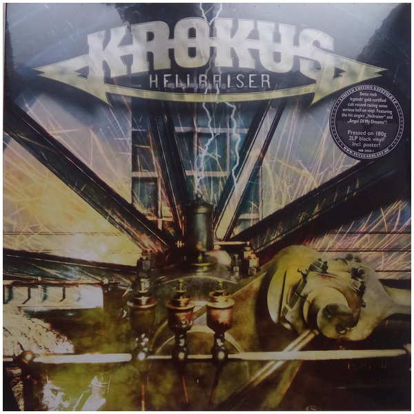 Krokus Krokus - Hellraiser (2 LP) cd диск krokus big rocks 1cd