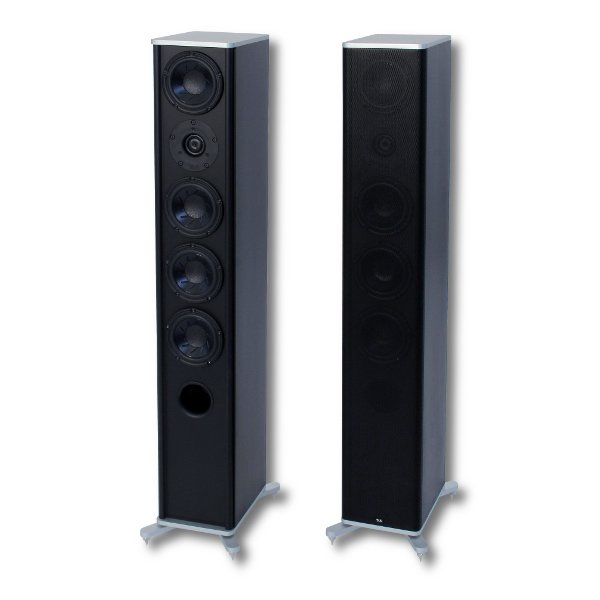 Напольная акустика T+A KS 350 Black/Silver напольная акустика paradigm studio 60 v 5 black
