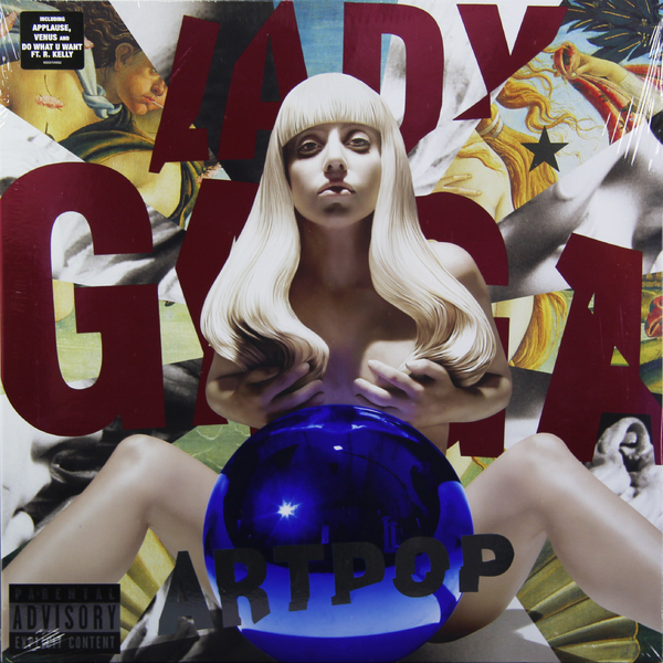 Lady Gaga Lady Gaga - Artpop (2 LP) lady gaga lady gaga the remix