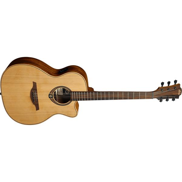 Гитара электроакустическая LAG Guitars T-170A CE Natural