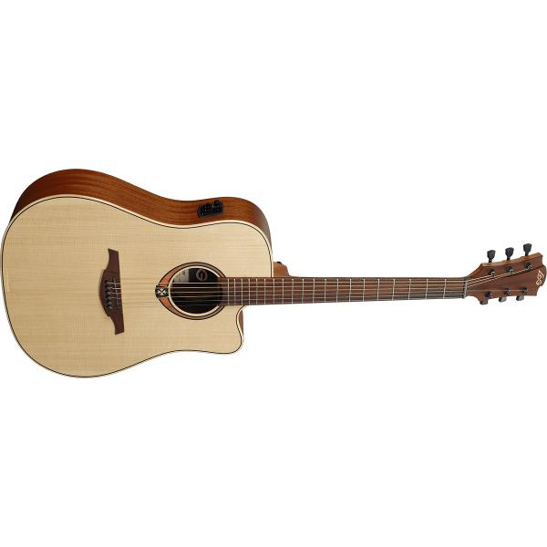 Гитара электроакустическая LAG Guitars T-70D CE Natural