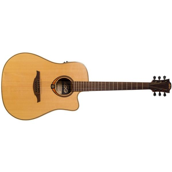 Гитара электроакустическая LAG Guitars T-88D CE Natural