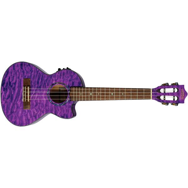 Укулеле Lanikai QM-PUCET Quilted Maple Purple Stain