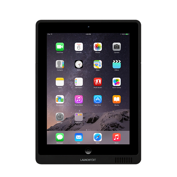 цена Товар (аксессуар для мультирума) LaunchPort Чехол для iPad AP3 Black онлайн в 2017 году