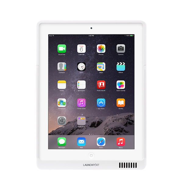 цена Товар (аксессуар для мультирума) LaunchPort Чехол для iPad AP4 White онлайн в 2017 году