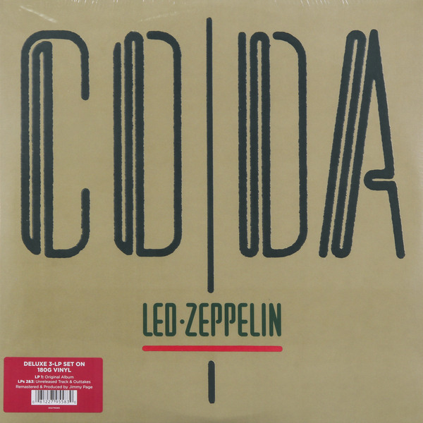 Led Zeppelin Led Zeppelin - Coda (3 Lp, 180 Gr) led zeppelin led zeppelin i deluxe edition 3 lp