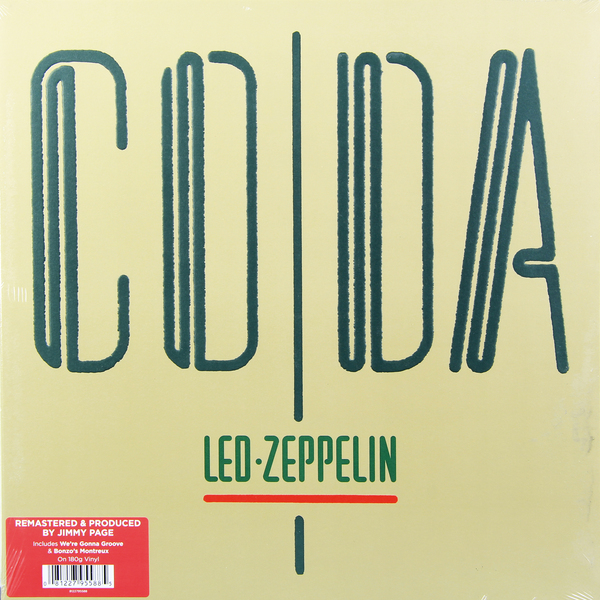 Led Zeppelin Led Zeppelin - Coda I (180 Gr) тяпка малая кизляр сто сталь 65х13