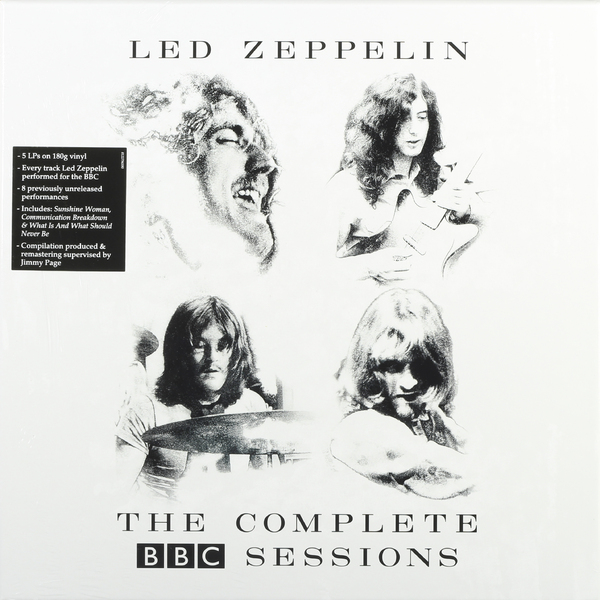 Led Zeppelin Led Zeppelin - Complete Bbc Sessions (5 LP) led zeppelin – led zeppelin iii deluxe edition 2 lp