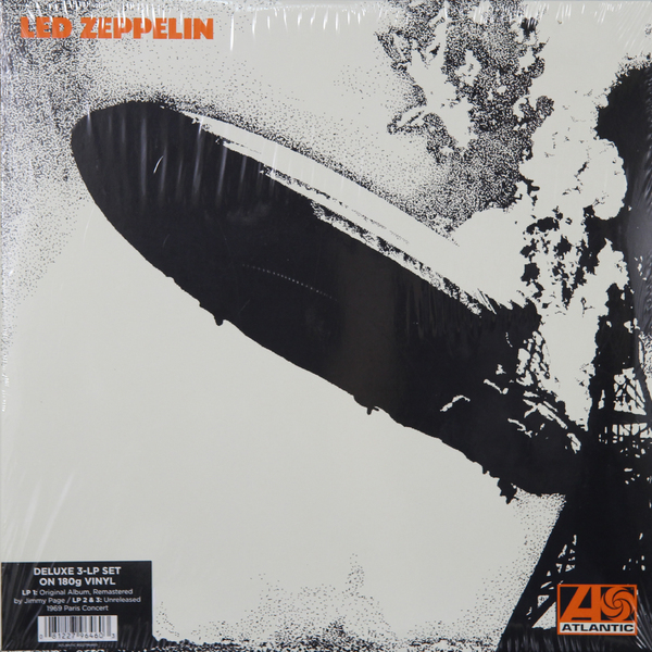Led Zeppelin Led Zeppelin - I - Deluxe Edition (3 LP) led zeppelin – how the west was won 4 lp