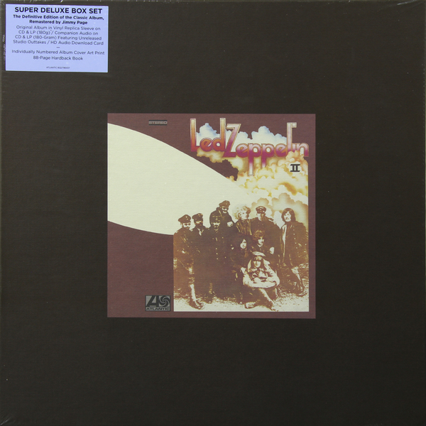 Led Zeppelin Led Zeppelin - Ii (box Set) jimmy page miniature guitar led zeppelin gibson les paul