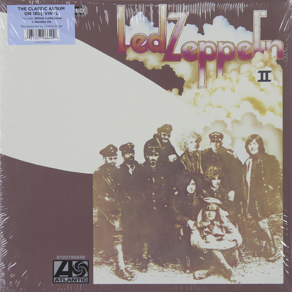 Led Zeppelin Led Zeppelin - Ii (180 Gr) jimmy page miniature guitar led zeppelin gibson les paul