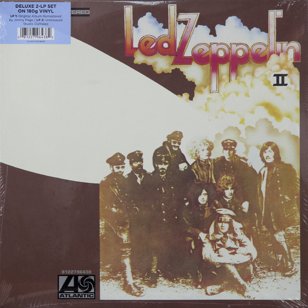 Led Zeppelin Led Zeppelin - Ii Deluxe Edition (2 LP) led zeppelin led zeppelin presence super deluxe edition box set 2 cd 2 lp