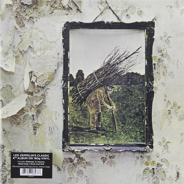 Led Zeppelin Led Zeppelin - Iv (180 Gr) jimmy page miniature guitar led zeppelin gibson les paul
