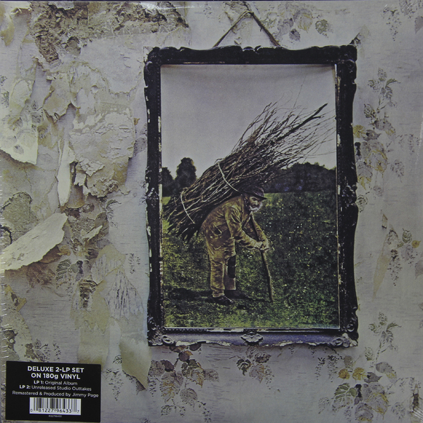 Led Zeppelin Led Zeppelin - Led Zeppelin Iv (2 Lp, 180 Gr) led zeppelin mothership 4 lp