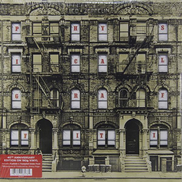 Led Zeppelin Led Zeppelin - Physical Graffiti (2 Lp, 180 Gr) led zeppelin led zeppelin physical graffiti super deluxe edition 3 cd 3 lp