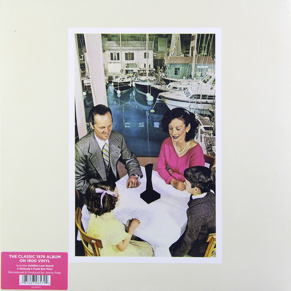 Led Zeppelin Led Zeppelin - Presence (180 Gr) led zeppelin – how the west was won 4 lp