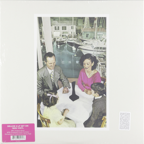 Фото - Led Zeppelin Led Zeppelin - Presence (2 Lp, 180 Gr) cd led zeppelin ii deluxe edition