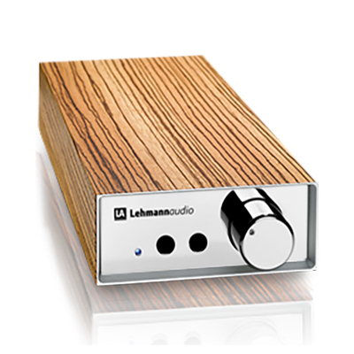 Усилитель для наушников Lehmann Audio Linear SE Chrome/Zebrano усилитель для наушников lehmann audio linear se silver walnut