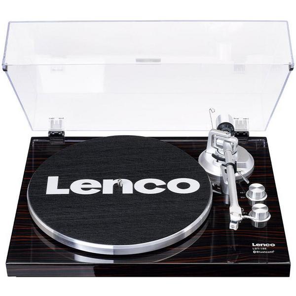 Виниловый проигрыватель Lenco LBT-188 Walnut