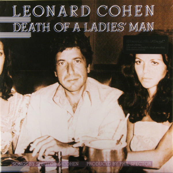 Leonard Cohen Leonard Cohen - Death Of A Ladies Man (180 Gr) a maze of death