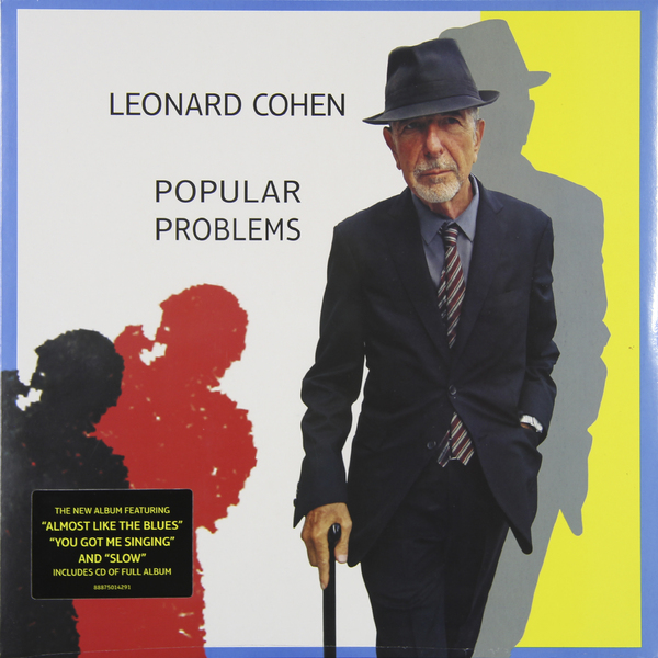 Leonard Cohen Leonard Cohen - Popular Problems (lp + Cd) atoma lp cd