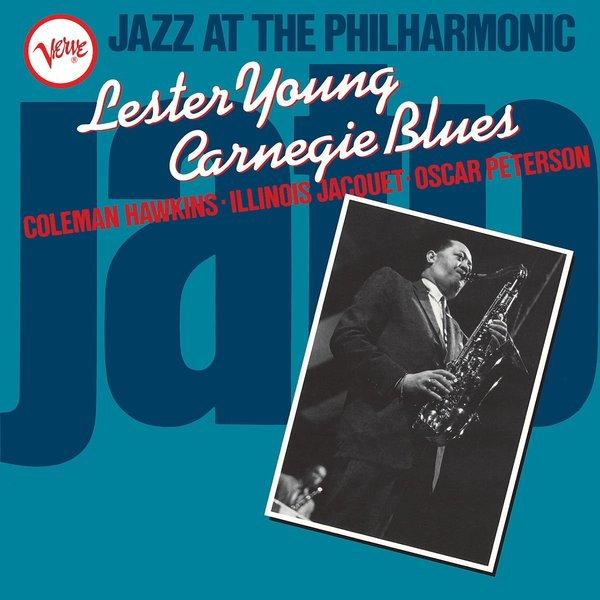 Lester Young Lester Young - Jazz At The Philharmonic: Carnegie Blues to a young jazz musician