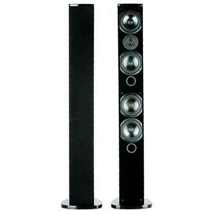 Напольная акустика T+A Lignum LGS 10 High Gloss Black