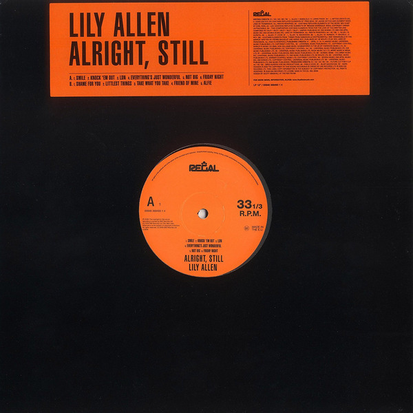 Lily Allen Lily Allen - Alright, Still… платье lily