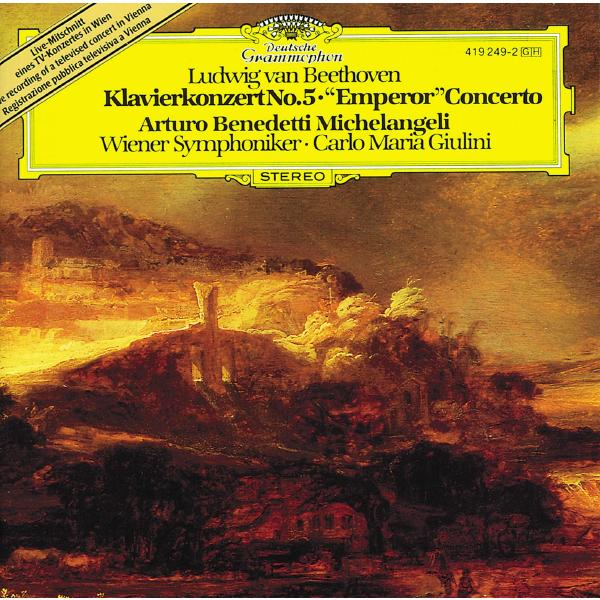 Arturo Benedetti Michelangeli Arturo Benedetti Michelangeli - Beethoven: Piano Concerto No. 5 In E-flat Major, Op. 73 emperor e w wolf keyboard concerto in f major