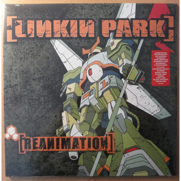 Linkin Park Linkin Park - Reanimation (2 LP) купить в Москве 2019