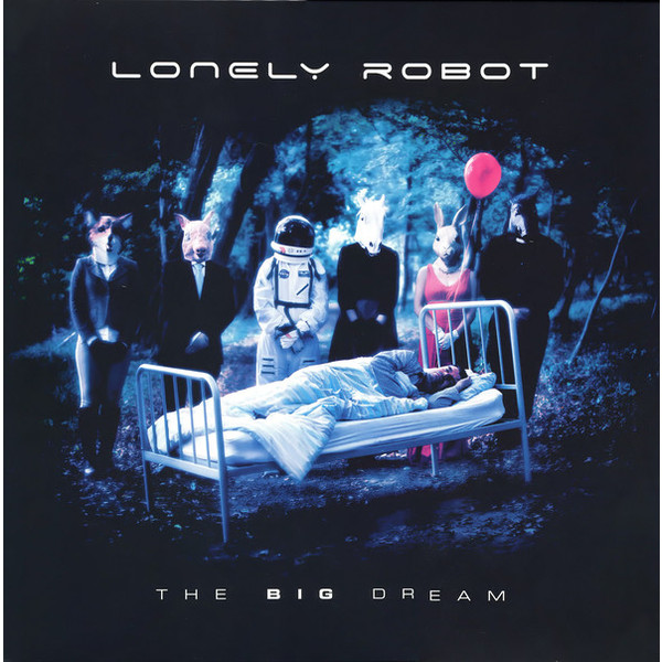 Lonely Robot Lonely Robot - The Big Dream (2 Lp+cd) lonely robot lonely robot the big dream 2 lp cd