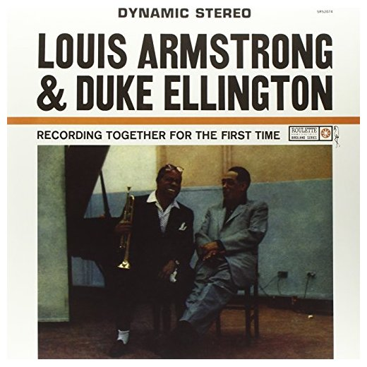 Louis Armstrong Duke Ellington Louis Armstrong Duke Ellington - Together For The First Time louis armstrong and duke ellington recording together for the first time lp