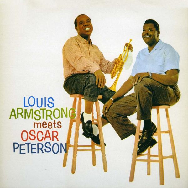 Louis Armstrong Meets Oscar Peterson (180 Gr)