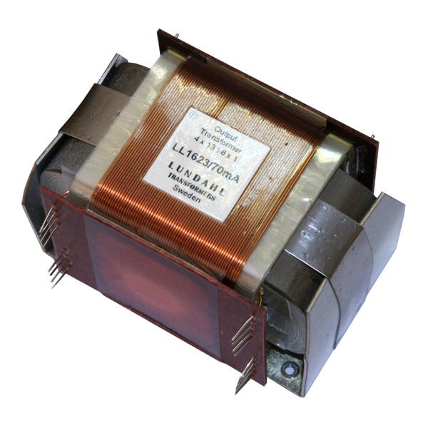 Трансформатор Lundahl LL1623 70 mA трансформатор lundahl ll1638 4h