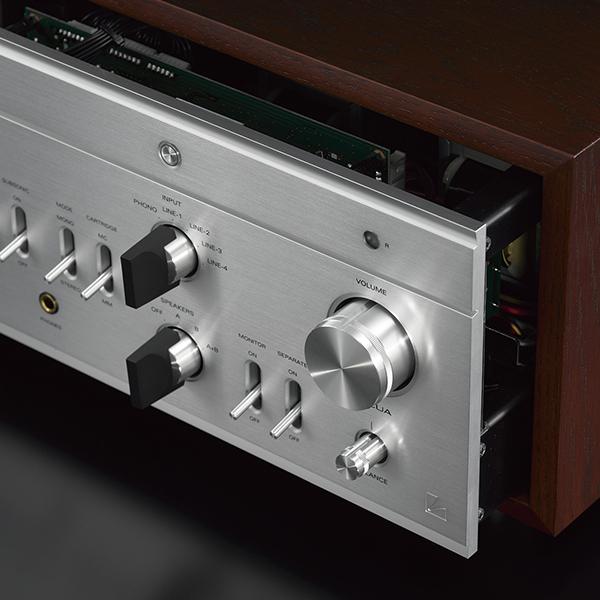 Ламповый стереоусилитель Luxman от Audiomania