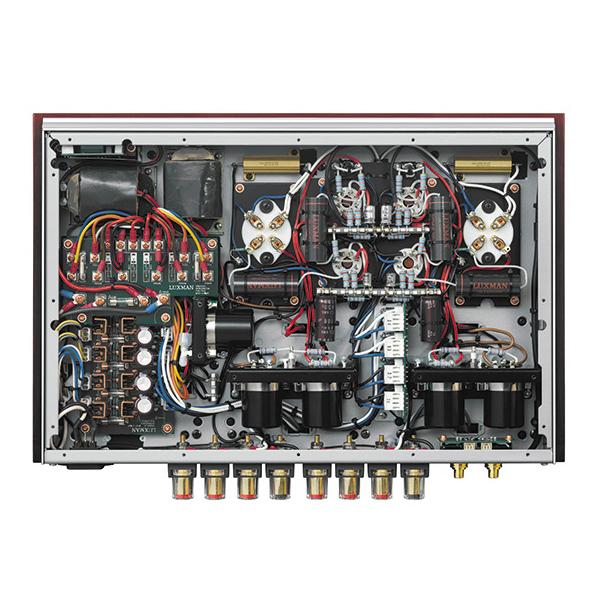 Ламповый стереоусилитель мощности Luxman от Audiomania