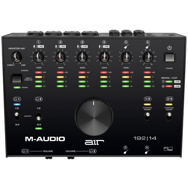 Внешняя студийная звуковая карта M-Audio AIR 192/14