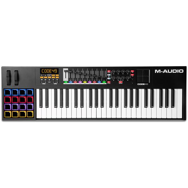 MIDI-клавиатура M-Audio Code 49 Black midi клавиатура 49 клавиш samson carbon 49