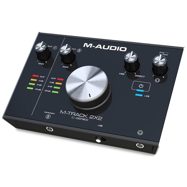 Внешняя студийная звуковая карта M-Audio M-Track 2X2 аудиоинтерфейс m audio m track 2x2m