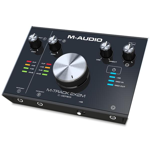 Внешняя студийная звуковая карта M-Track M-Audio 2X2M
