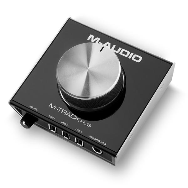 Внешняя студийная звуковая карта M-Audio M-Track Hub m audio m track 2x2 vocal studio pro black аудиоинтерфейс