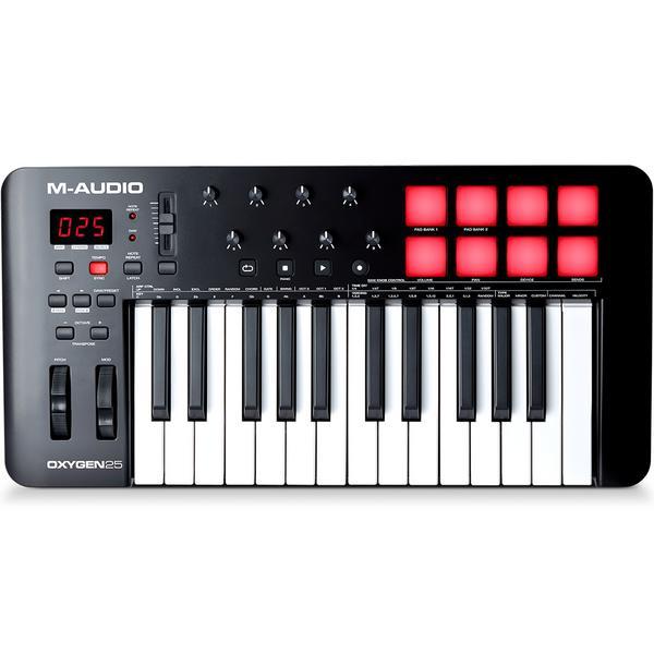 MIDI-клавиатура M-Audio Oxygen 25 MK V
