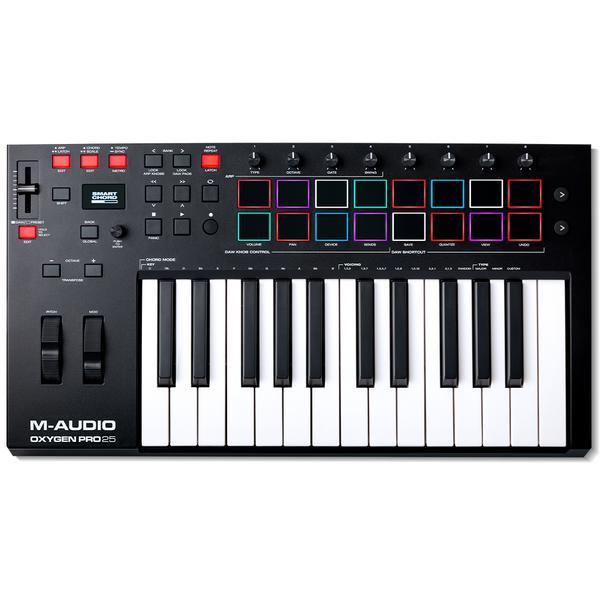 MIDI-клавиатура M-Audio Oxygen Pro 25 Black