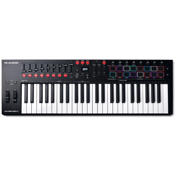 MIDI-клавиатура M-Audio Oxygen Pro 49 Black