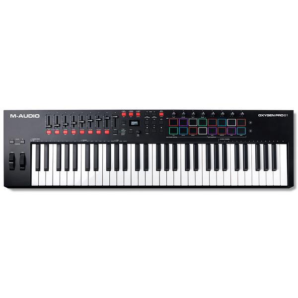 MIDI-клавиатура M-Audio Oxygen Pro 61 Black
