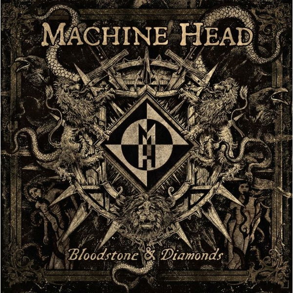 Machine Head Machine Head - Bloodstone Diamonds (2 Lp, 180 Gr) hand operate branding machine leather printer creasing machine hot foil stamping machine marking press embossing machine 5x7cm