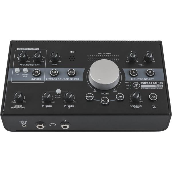 Внешняя студийная звуковая карта Mackie Big Knob Studio mackie srm450v3